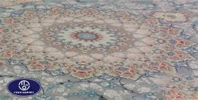 Toos Mashhad floral carpet