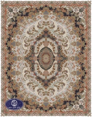 فرش ماشینی توس مشهد طرح گل آرا