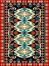 فرش عشایری توس مشهد کد AB091