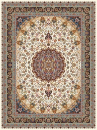 shoulder machine carpet, density 3000, isfahan1 design,, Toos Mashhad