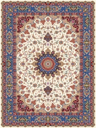1000shoulder machine carpet, Isfahan 2 design,