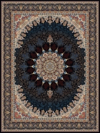 1000shoulder machine carpet, Pamchal design,, Toos Mashhad