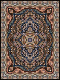 1000shoulder machine carpet with 3000, Parsa design. Toos Mashhad0 density,