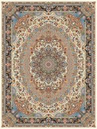 1000shoulder machine carpet with 3000 density, Pazirik design in Toos Mashhad