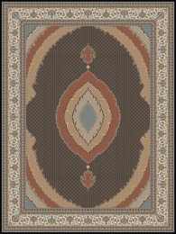 1000shoulder machine carpet,  3000 density, Riz Mahi design,, Toos Mashhad