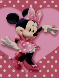 Minnie mouse Kid's carpet, , Toos Mashhad