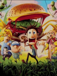 Cloudy with a Chance of Meatballs puppet carpet,  Toos Mashhad