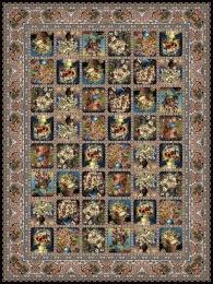 1000 shoulder machine carpet, Perry flower design