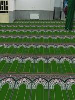 فرش سجاده ای طرح آ،اق