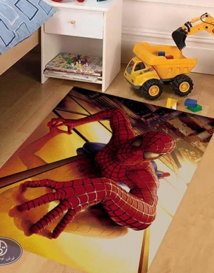 فرش کارتونی مرد عنکبوتی 1_3423 اتاق کودک