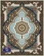 فرش 700 شانه طرح شمشاد کد 7021،توس مشهد،کرم