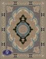 فرش 700 شانه طرح شکوفه کد 7038،توس مشهد،شکلاتی