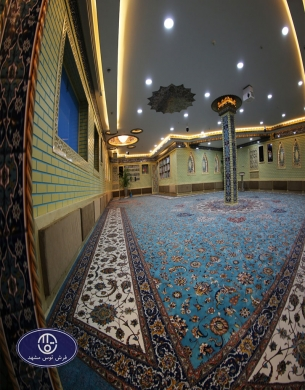 فرش تک پارچه،قرارگاه خاتم،توس مشهد