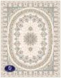 فرش گل برجسته 1000 شانه،توس مشهد،کرم8021