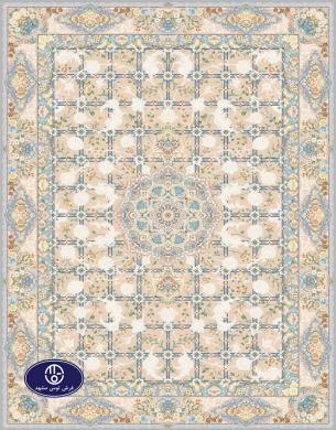 فرش گل برجسته 1000 شانه،توس مشهد،فیلی 8052