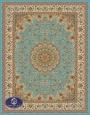 فرش 700 شانه،اصفهان،توس مشهد،آبی فیروزه ای