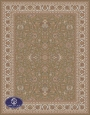 700reeds machine made carpet, Afshan pattern. code:7050. brown
