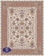 700reeds machine made carpet, Afshan3 pattern.cream
