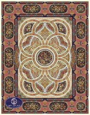 700reeds machine made carpet, Shahriar pattern. cream