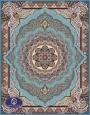 فرش 700 شانه،صبا،توس مشهد،آبی فیروزه ای