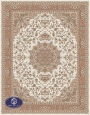 700reeds machine made carpet, Nasim pattern. cream