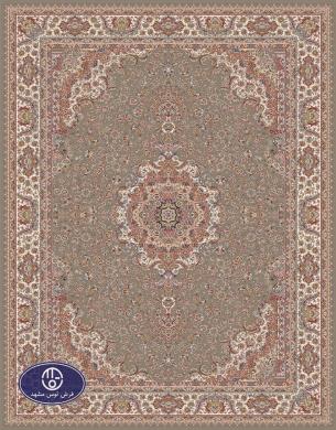 700reeds machine made carpet, Gisoo pattern, brown