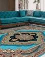 دکوراسیون فرش 700 شانه طرح باغ معلق, توس مشهد , آبی