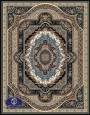 فرش 1000 شانه طرح پاینا,توس مشهد,سرمه ای
