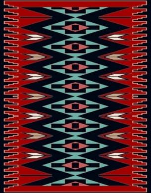 فرش عشایری کد AB075،توس مشهد،سرمه ای