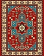 Machine made carpet, tribal pattern, code AB078,