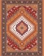 فرش عشایری کد AB079،توس مشهد،آجری