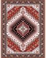 فرش عشایری کد AB079،توس مشهد،کرم