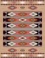 فرش عشایری کد AB080،توس مشهد،گلبهی