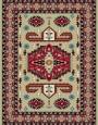 فرش عشایری کد AB082،توس مشهد،کرم1