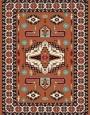 فرش عشایری کد AB082،توس مشهد،آجری