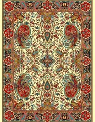 فرش عشایری کد AB086،توس مشهد،کرم