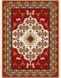 فرش عشایری کد AB088،توس مشهد،کرم