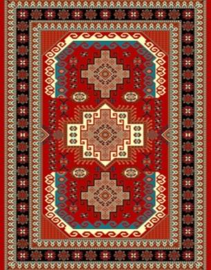 فرش عشایری کد AB090،توس مشهد،لاکی