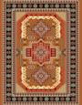 فرش عشایری کد AB090،توس مشهد،طلایی