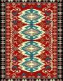 فرش عشایری کد AB091،توس مشهد،لاکی