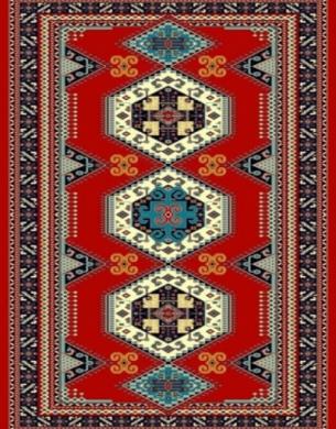 فرش عشایری کد AB092،توس مشهد،لاکی