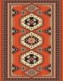 Machine made carpet, tribal pattern, code AB092