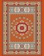 فرش عشایری کد AB093،توس مشهد،آجری