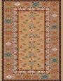 فرش عشایری کد AB094،توس مشهد،شکلاتی