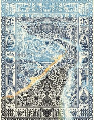 فرش مدرن,هزار شانه,طرح 003،توس مشهد