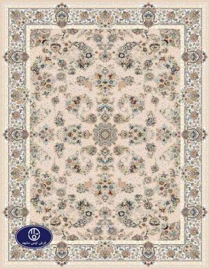 فرش گل برجسته،توس مشهد،شکلاتی 8015