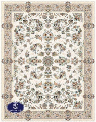 فرش گل برجسته،توس مشهد،کرم 8018
