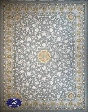 فرش ماشینی 1200 شانه طرح آیلار الماسی