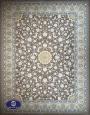 فرش ماشینی 1200 شانه طرح آیلار گردویی