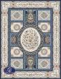 فرش گل برجسته 1000 شانه،توس مشهد،کاربنی 8042